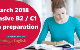 intensivo de inglés b2 c1