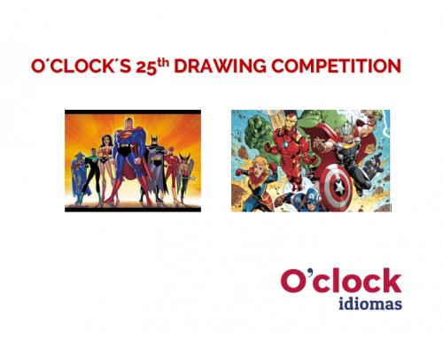 Concurso de dibujo de superhéroes y superheroínas