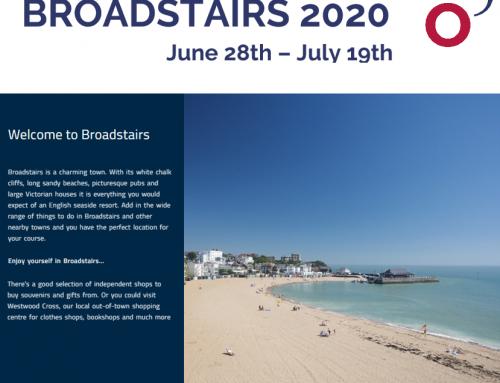 Broadstairs, programa de inmersión en la costa británica
