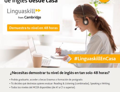 Certifica tu nivel de ingles desde casa con el examen Linguaskill de Cambridge