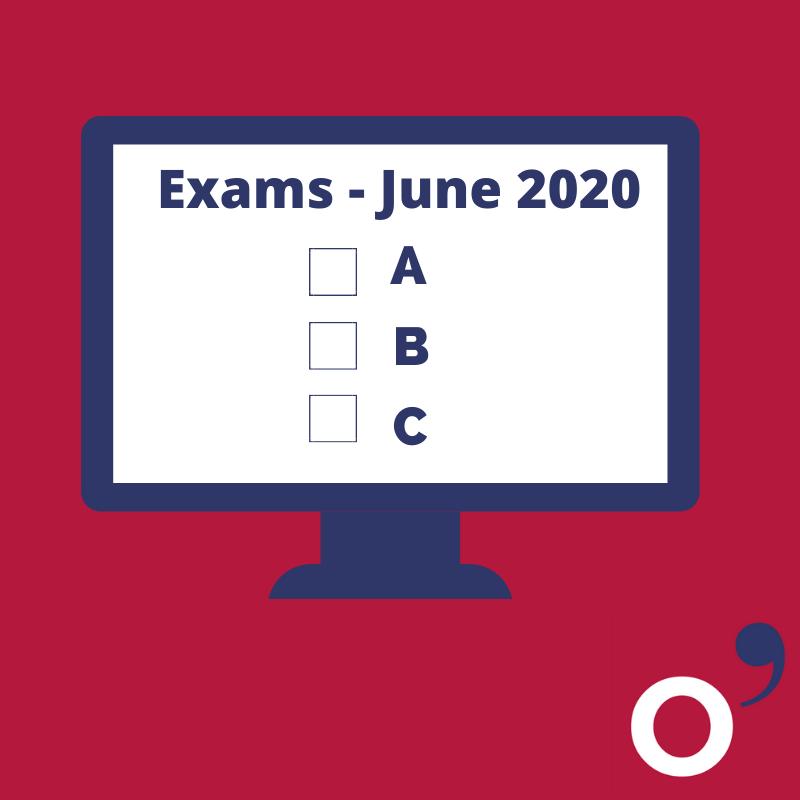 exámenes finales junio 2020
